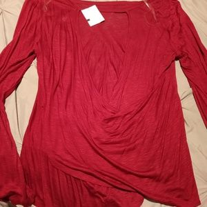 Tops - Sexy Long-Sleeve Cut Out Top